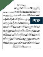 allegro de Fiocco versión para viola