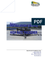 THICKENER Mechanism -Center Pier Type Manual