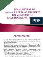 Plano Municipal de Políticas Para as Mulheres Do