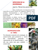 prospeccion de la biodiversidad