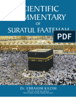 Scientific Commentary of Suratul Faatehah by Dr E. Kazim