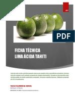 Ficha Tecnica Lima Tahiti