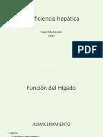 7 Insuficiencia hepática