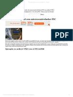 Tacómetro Digital Con Microcontrolador PIC - Tecmikro