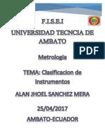 Deber Mapa Clasificacion de Instrumentos Alan Sanche