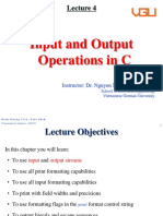 Lecture 4-Input and Output Operations in C.pptx