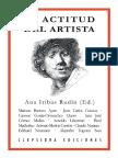 La Actitud Del Artista - Iribas Rudín, Ana (Ed.)