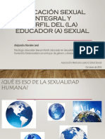 Educación Sexual Integral y Perfil - Amssac Oct 16