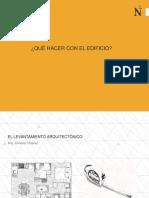 El Levantamiento Arquitectónico