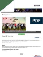 Villa Mix 2016 Preços de Ingressos