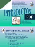 Presentación de Interdictos DEFINITIVA