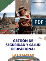 _sistema de Seguridad y Salud Ocupacional en Las Bambas