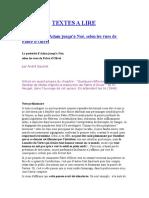 Document -- Textes a Lire
