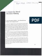 A Model for Moral Decision Making