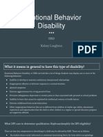 disability focus- ebd