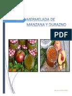Mermelada de Manzana y Durazno