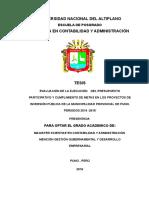 TESIS Evaluacion de Presupuesto Participativo