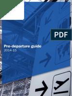 Pre Departure Guide 2014 Copy