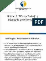 Unidad I - Tecnologías de La Información y La Comunicación Para La Administración (Parte 1)