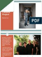 individual cultural project