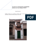 Arqueologia de Un Conventillo Porteño