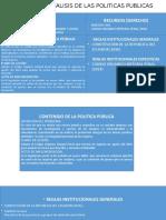 Claves Para El Analisis de Las Politicas Publicas