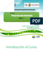TAV 01 - Programación Avanzada