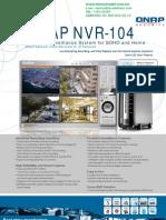 NVR movil QNAP NVR104V