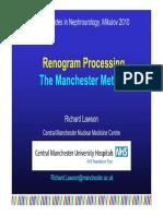 Renogram Processing-The Manchester Method