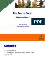The Quinoa Boom