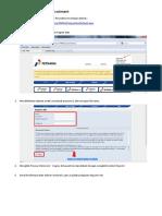 Panduan Mengisi Web E-Recruitment