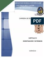 Plan de Investigación y Extensión Ciice