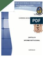 Informe Institucional. Mercosur