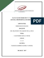 Caso Pedro Huilca Tecse - Trabajo Monografico - Sandra Tamara Ramirez