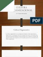 Clase 9 Cultura Organizacional