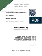 Plan de Marketing -Mermelada de Melón-PDF