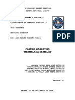 Plan de Marketing -Mermelada de Melón-PDF