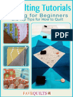 17 Quilting Tutorials Quilting for Beginners and Top Tips for How to Quilt free eBook.pdf