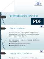 Sistemas Socio Tecnicos