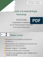 Introduccion a La Metodologia Bootstrap