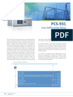 Flyer - PCS-931 Line Differential Relay