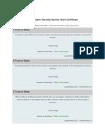 Akber-Paper Cyber Security Service Work Certificate