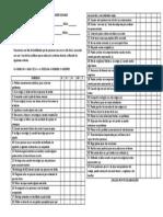 Lista de Evaluación de Habilidades Sociales