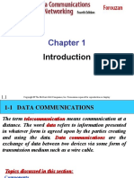 ch01 FOROUZAN DATA COMMUNICATION