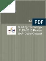 3-Masonry - UAP-Dubai - FLEA 2013