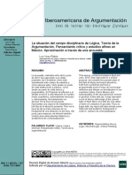 Revista Iberoamericana de Argumentación