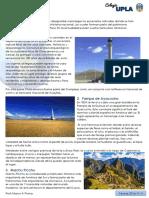 Santuarios Históricos y Reservas Nacionales del Perú