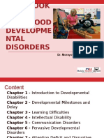 Handbook of Childhood Developmental Disorders