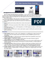 HD-721 Video Upscaling Rotary Controller Catalog