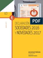 Impuesto Sociedades 2016 CGE